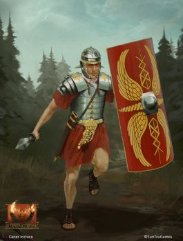 Burning Rome - Legionary - by Redan23