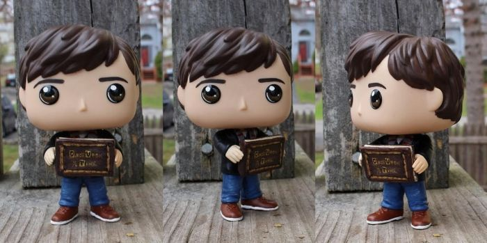 Custom Commissioned Henry Mills with Story Book by LMRourke