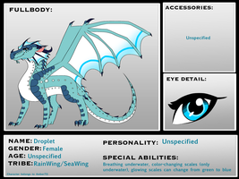 Droplet Ref CM by Sahel-Solitude