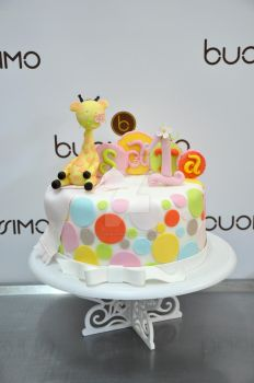 Gorgeous little Giraffe cake by Florin-Chis