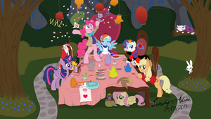 Tea Party Time! by LeirbagAhcor