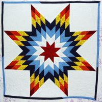 For Sale: Star Quilt Wallhanging by StarValkyrie