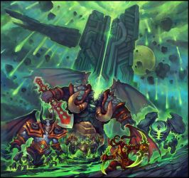 invasion of the Burning Legion. by liuhao726