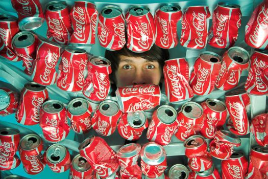 Coca-Cola obsession by PinkyPinkasso