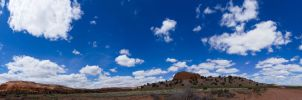 Clouds Over New Mexico by gidatola