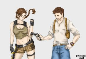 Lara and Drake by guilhermePato