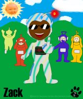 Chibi Zack - Teletubbies by Manwe-Varda