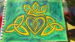 celtic claddagh by TaitGallery