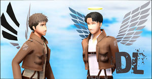 .: SnK Wings Download :. by Duekko