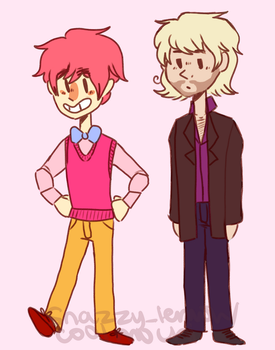 2p England and France by coolmochi