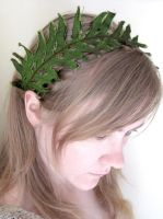 Fern Silk Headband by nolwen