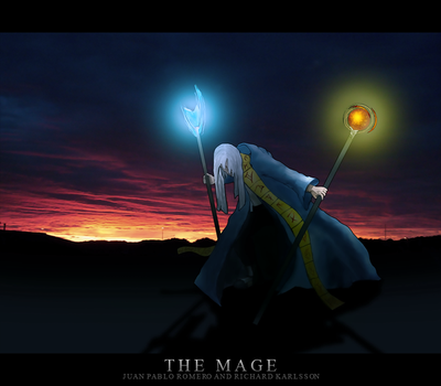 The Mage by 4pps