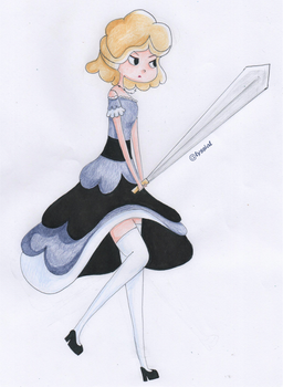 Magical Girl by LyssiaL