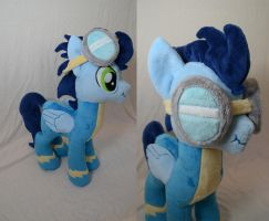 Scrunchy-Face Soarin Plush by makeshiftwings30