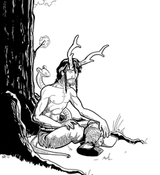 Cernunnos by Mercvtio