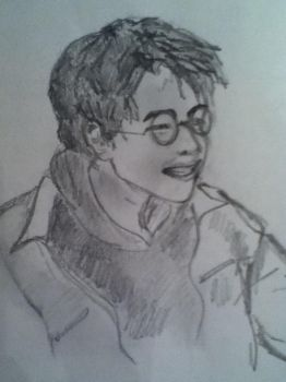Harry Potter draw by emanems
