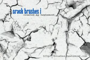 Crack Brushes I by hawksmont