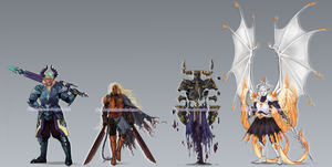 Knight Adoptables #1 {1 OPEN DISCOUNTED} by Geinkotsu