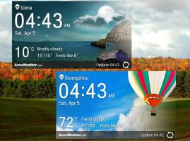 LG Optimus G Weather HD for xwidget by Jimking