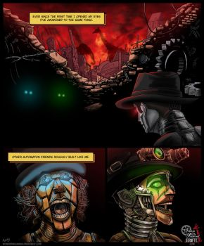Steam Powered Giraffe Comic by Wonderwig