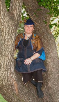 Steampunk in a Tree by Feybles