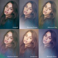 5 Dreamy Photoshop Actions by pelleron