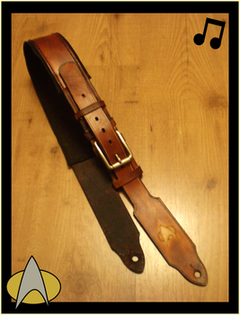 Custom Guitar Strap by Isinglass-Industries