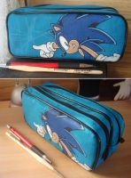 Sonic Pencil Case by Sega-Club-Tikal