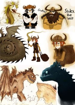 httyd project collection by Detkef
