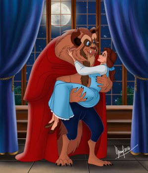 BEAUTY AND THE BEAST VERSION 1 by FERNL