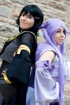 Espeon and Umbreon Gijinka | Eeveelution | III by Wings-chan