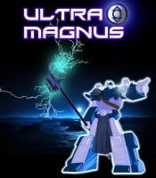 Ultra Magnus Indigo Tribe by Optimus77463