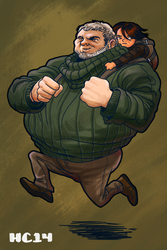 Hodor delivery service by hamdiggy