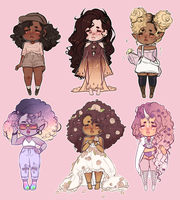 curly adopts closed by cueen