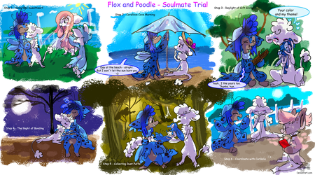 Soulmate Trial - Flox and Poodle - Part 1 - 6 by JB-Pawstep