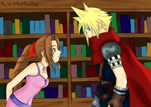Cloud and Aerith reunited by MissMinority