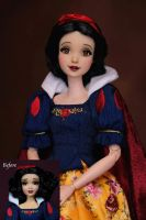 Snow White OOAK doll by RYfactory