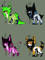 Halloween scenedogs [CLOSED] by G3TCH00