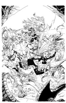 Guardians  Black and White by TomRaney
