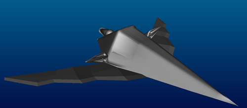 Low Poly Ship Blender SS by Morcal