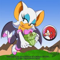 COMMISSION: Knuckles Big Worry by Trowelhands