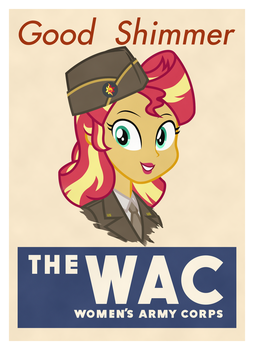 Good Shimmer (WW2 Poster) by FamousMari5