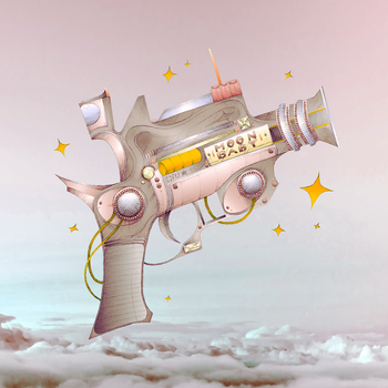 Laser Gun by Monecranestpourri