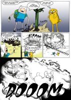 Adventure Time - Colliding Worlds Page 3 by IzaPug
