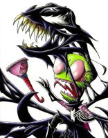 Invader Zim - Venom Zim by CindyCandy100