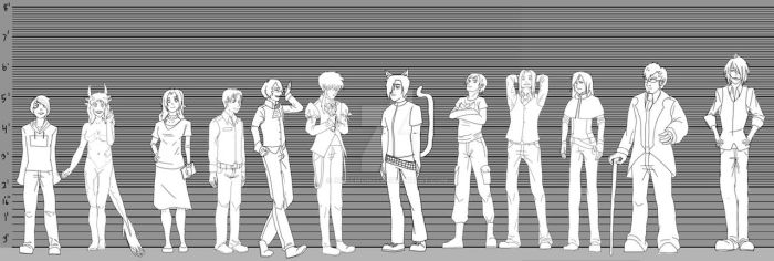 LBHC: Height Chart by IceDemon23