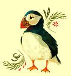 Puffin by Limecrumble