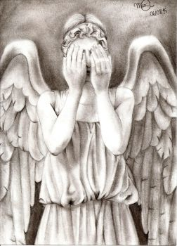 weeping angel by yelowne