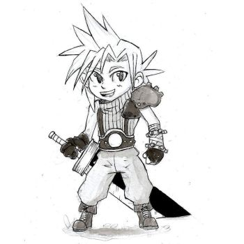 Inktober #19 - Cloud! by Marcos-A-Rodrigues