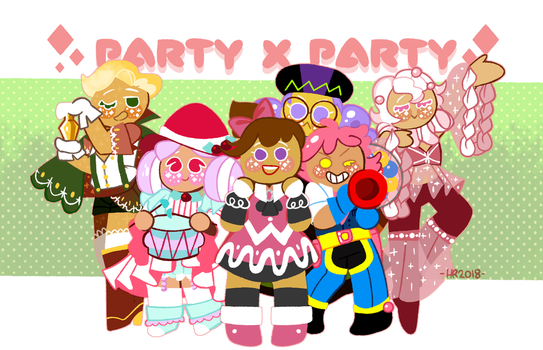 cookie run: party x party by m5w